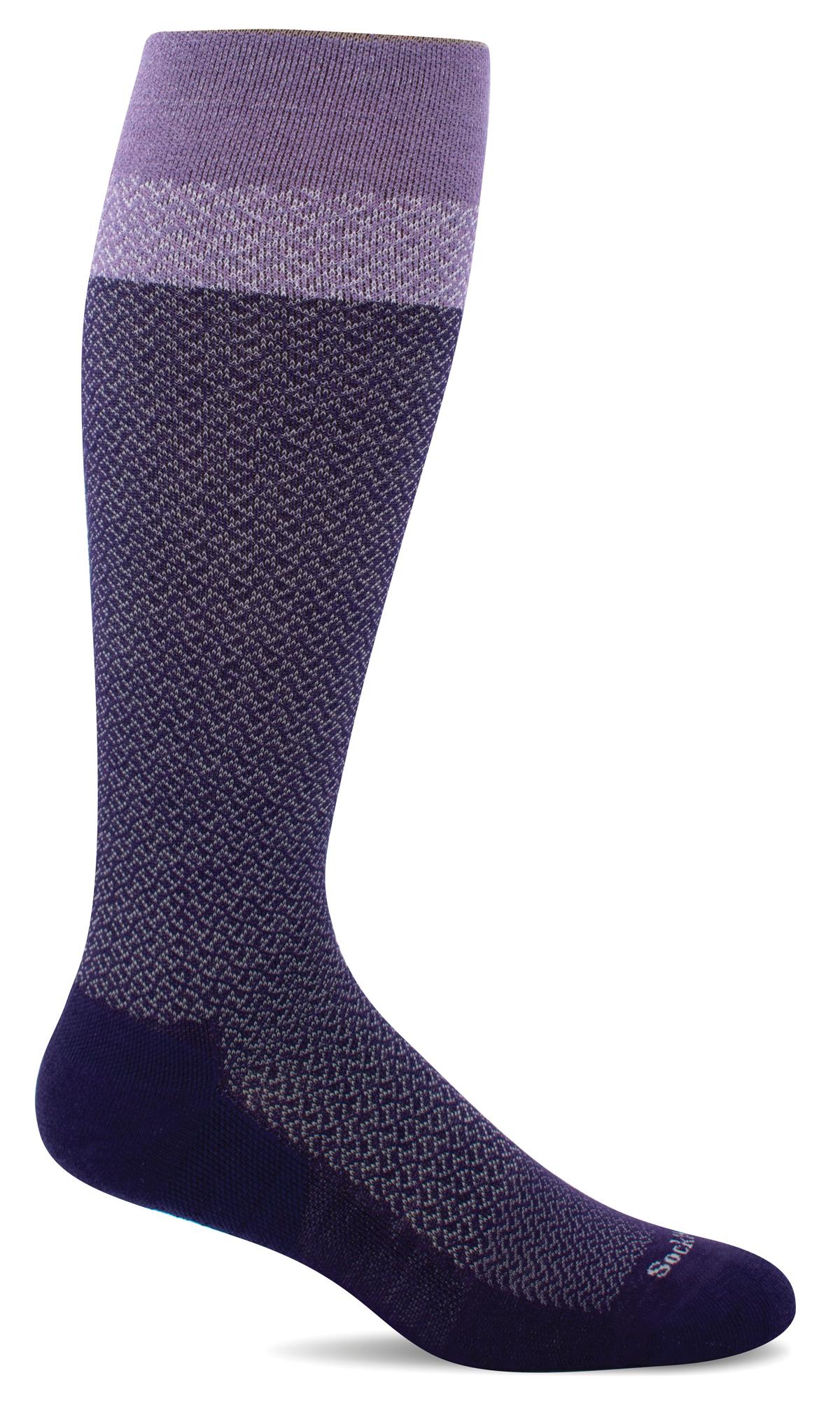 Sockwell 15-20 mmHg WIDE CALF Full Twist Compression Socks-Sockwell