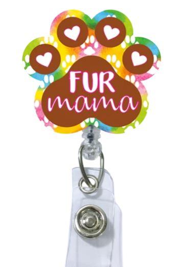 Fur Mama Badge Reel-Uniform Headquarters