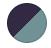 Blue Haze/ Black Iris