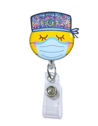 Scrub Girl Badge Reel-