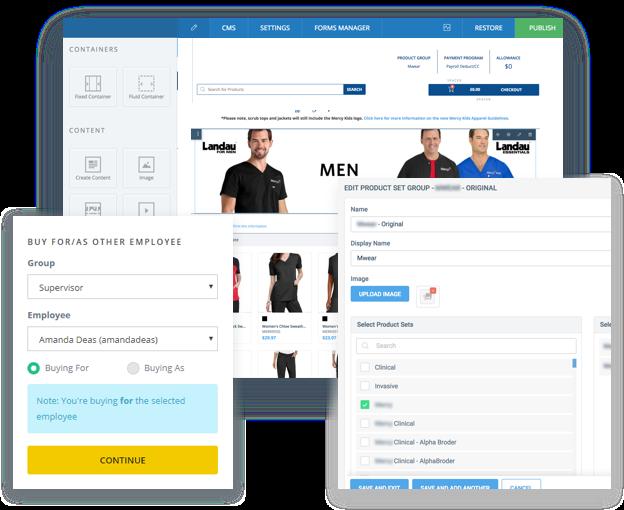 Enterprise B2B for Uniforms Industry