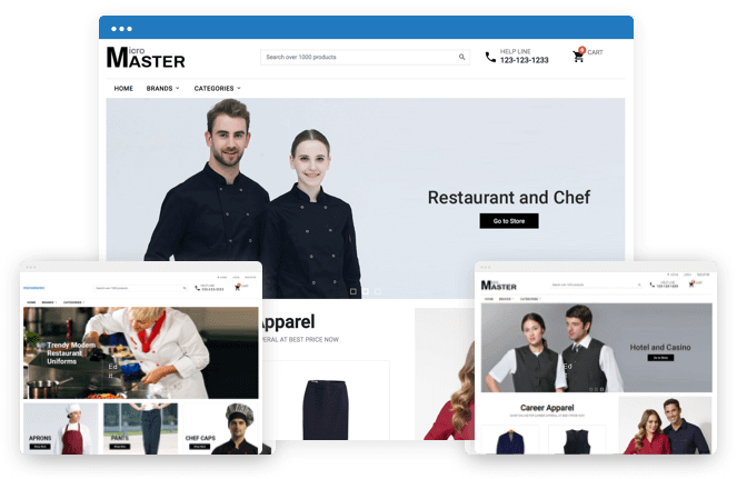 MultiStore ecommerce Stores
