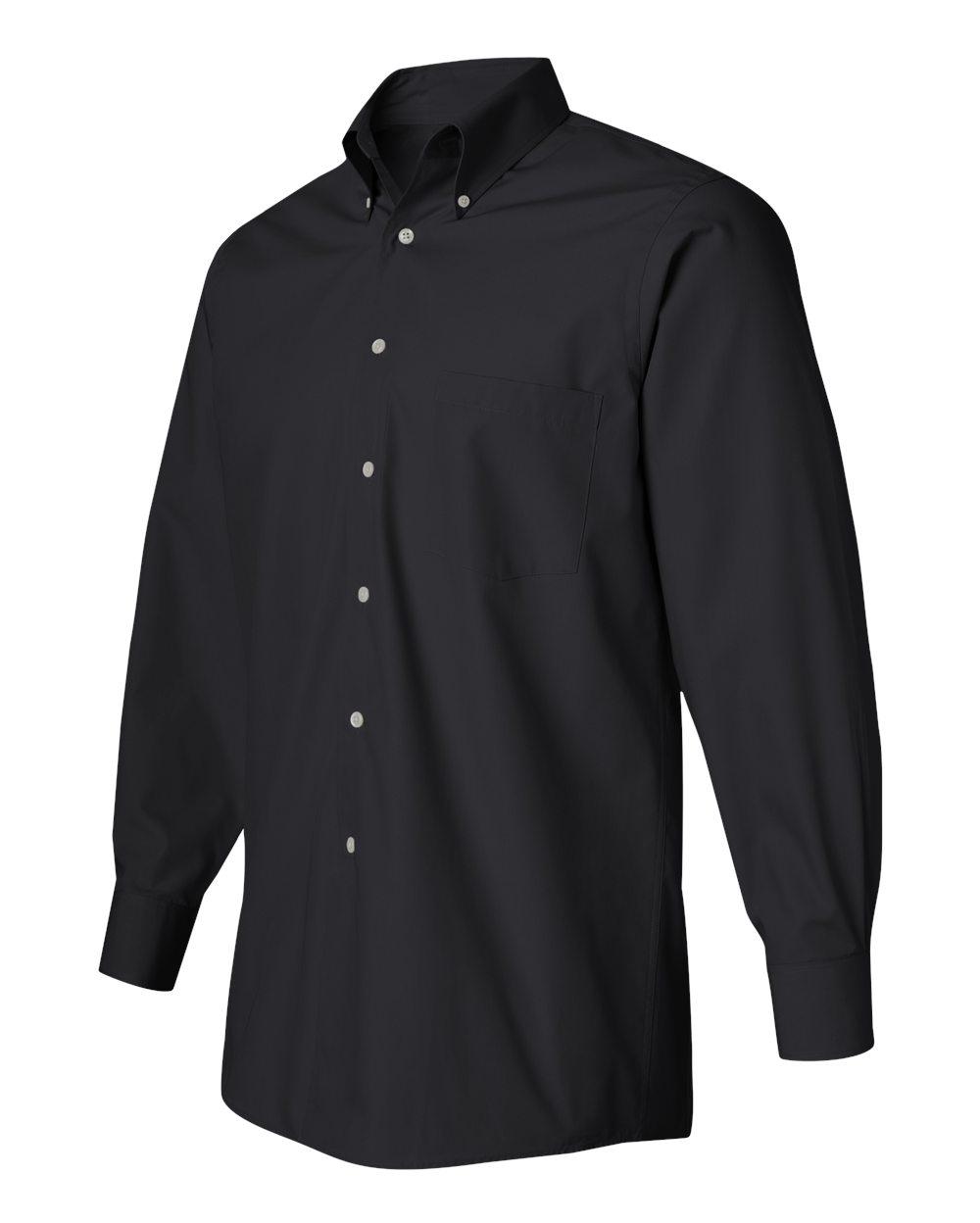 VAN HEUSEN - Men's Silky Poplin Shirt-