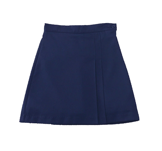 AUW Universal Girl's Two-Sided Pleated Skort-All Uniform Wear