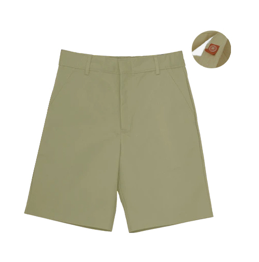 "AUW UNIVERSAL Boy's ""Adjustable Waist"" Flat Front Shorts-"