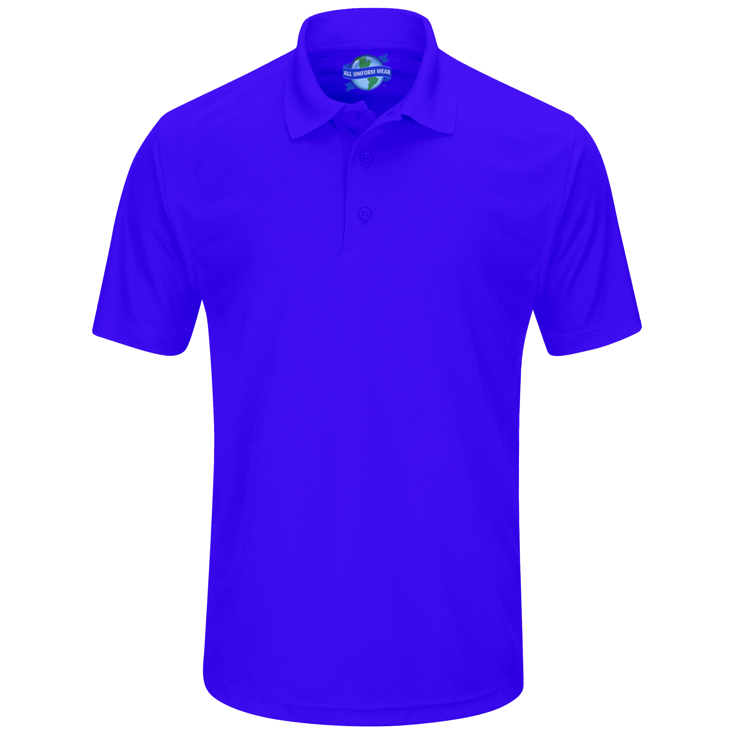 AUW Uniforms: Universal Short Sleeve Pique Polo Shirt-All Uniform Wear