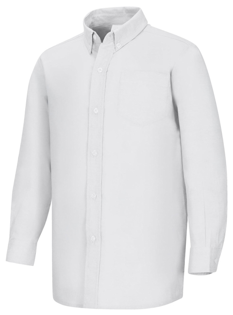 AUW - Boy's Long Sleeve Oxford Shirt -