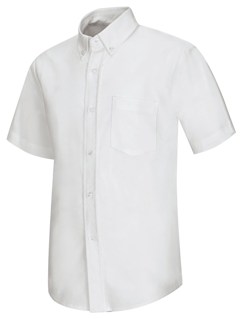AUW - Boy's Short Sleeve Oxford Shirt -