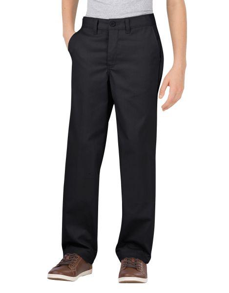 Dickies Boys Boys Flex Classic Fit Straight Leg Ultimate Khaki Pants, 4-7-DK
