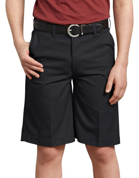 Boys FlexWaist® Flat Front Shorts, 8-20 Husky-