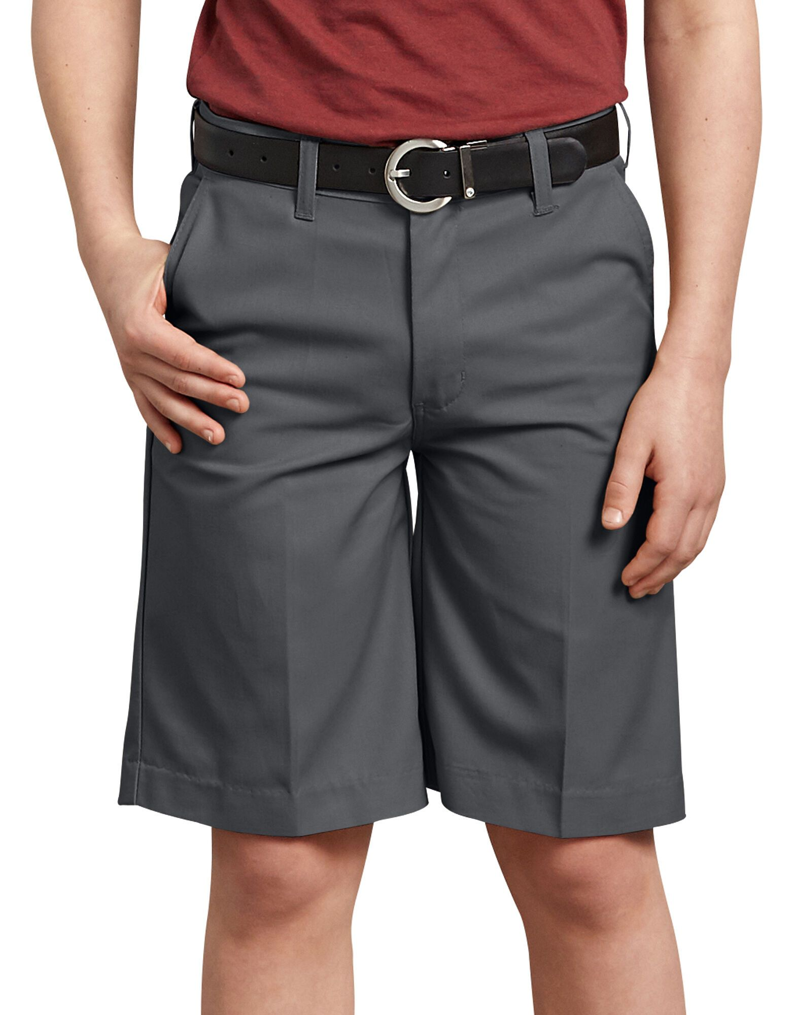 Boys FlexWaist® Flat Front Shorts, 8-20-