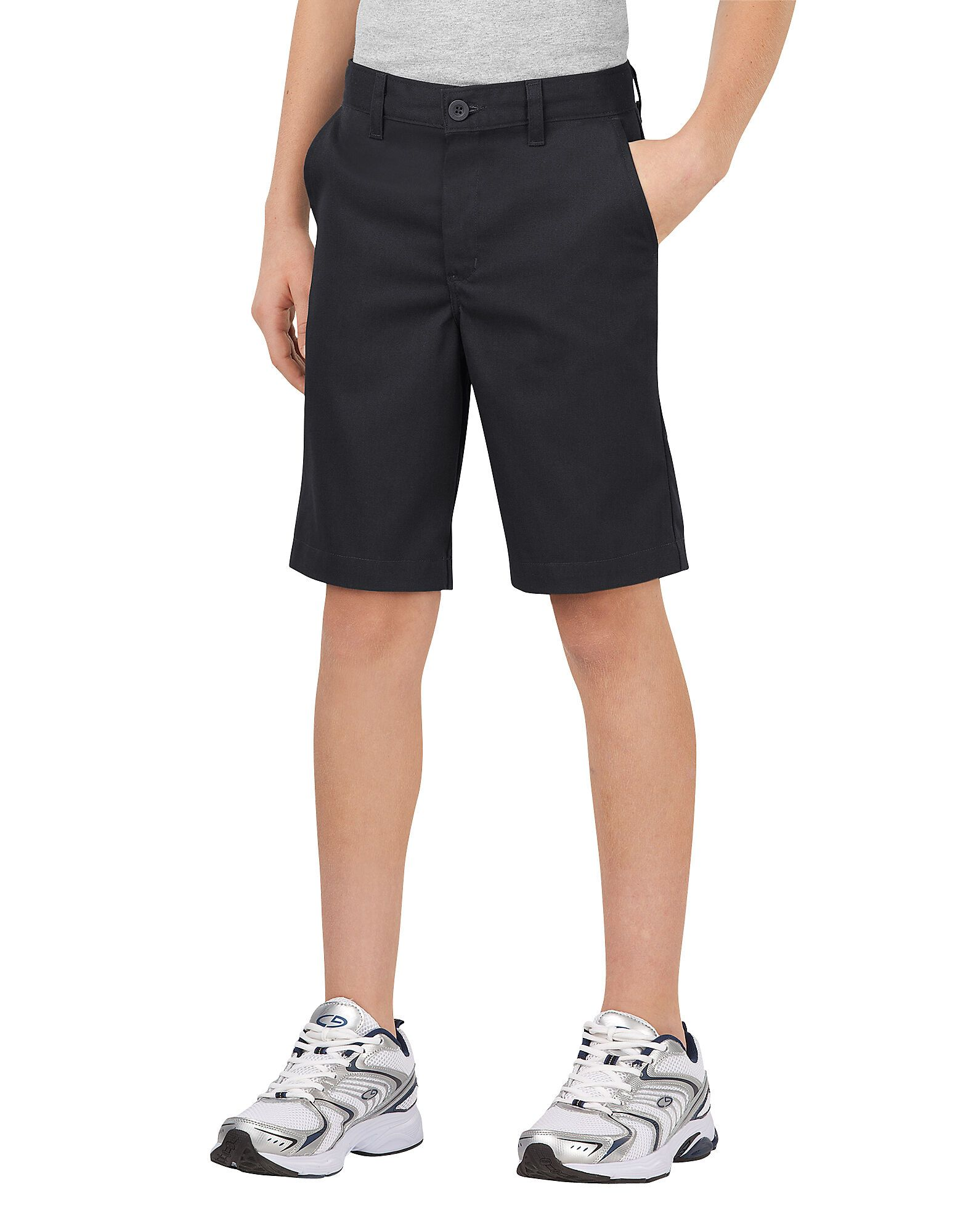 Dickies Boys Boys FlexWaist® Classic Fit Ultimate Khaki Shorts, 8-20-DK