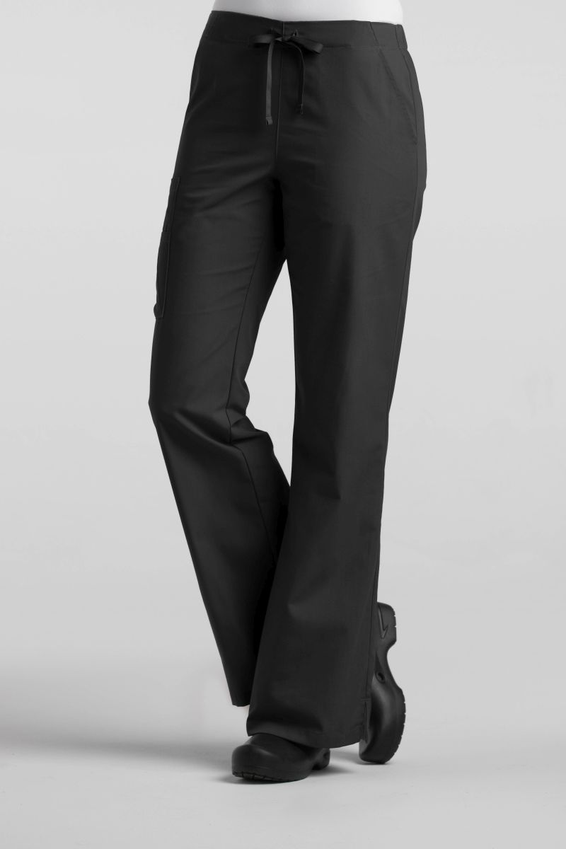 AUW - ESSENTIALS Ladies Basic Flare Leg Pant-AUW ESSENTIALS