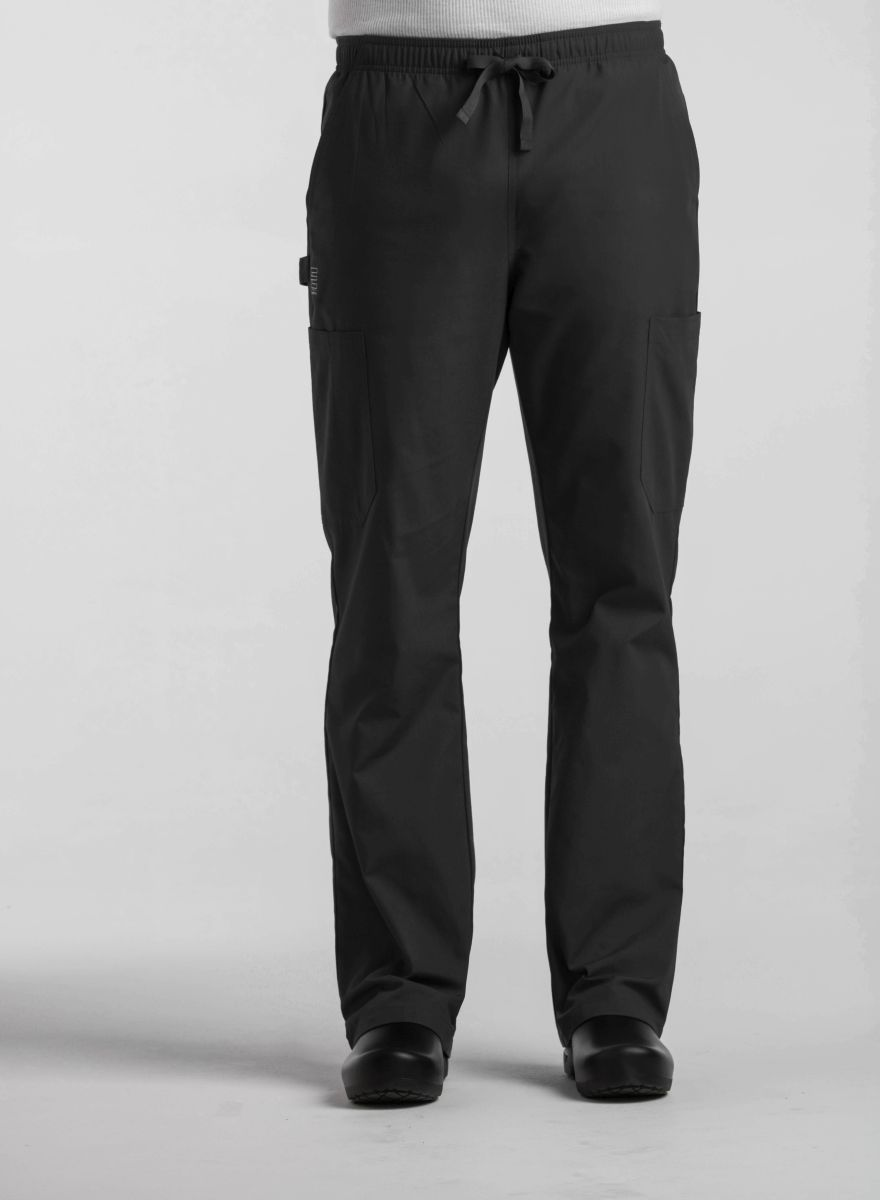 AUW - ESSENTIALS Mens Basic Elastic Drawstring Pant-AUW ESSENTIALS