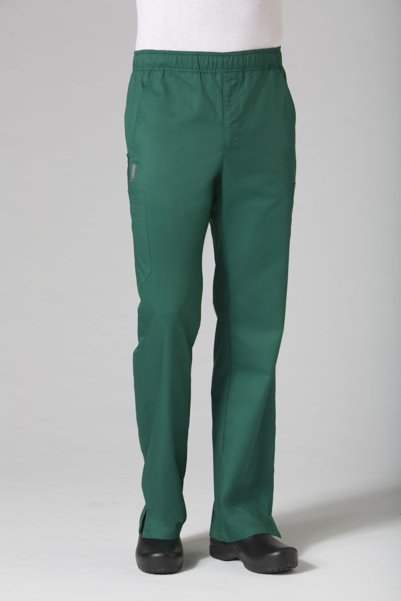 Men's Sporty Mesh Panel Scrub Pant Online - AUW ACTIVE-AUW ACTIVE