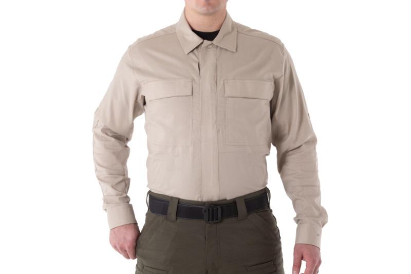 First Tactical Men's V2 BDU Long Sleeve Shirt-