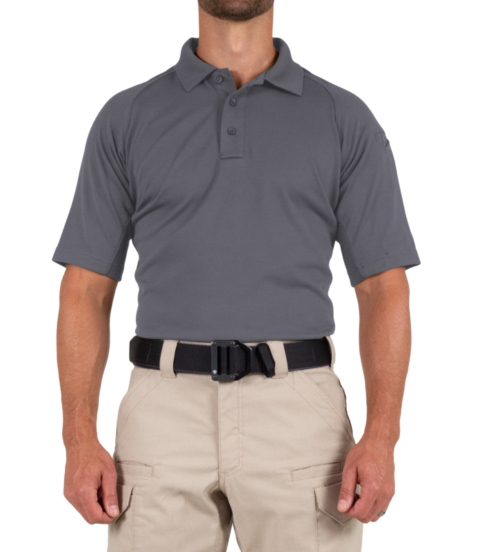 First Tactical Men's Performance Short Sleeve Polo-First Tactical