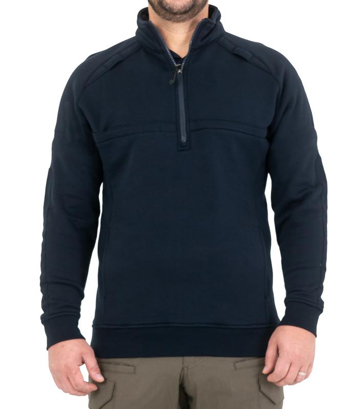 First Tactical Men's Cotton Job Shirt Quarter (1/4) Zip-