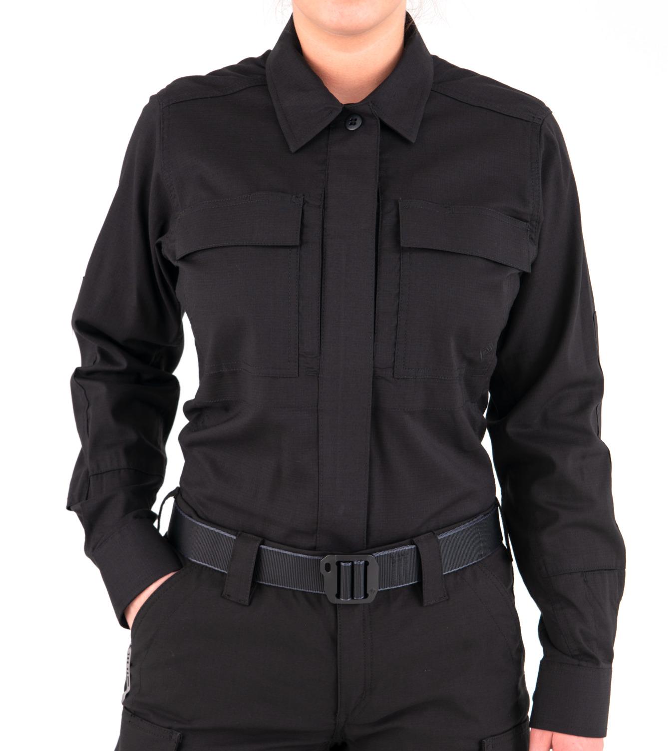 First Tactical Women's V2 BDU Long Sleeve Shirt-First Tactical