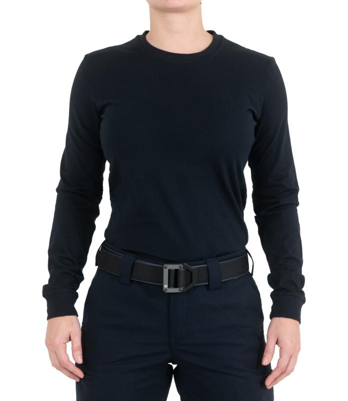 First Tactical Women's Tactix Cotton Long Sleeve T-Shirt-First Tactical