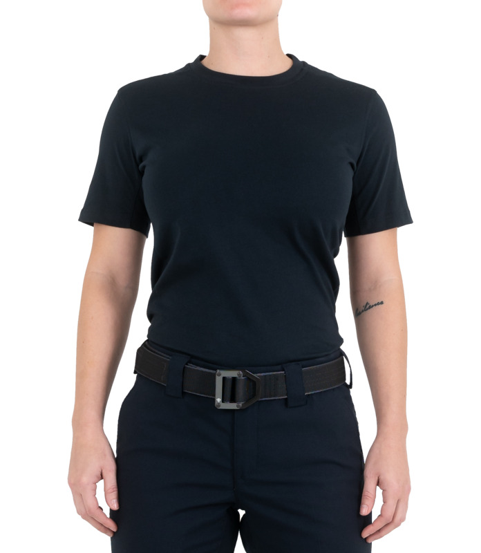 First Tactical Women's Tactix Series Cotton Short Sleeve T-Shirt-First Tactical