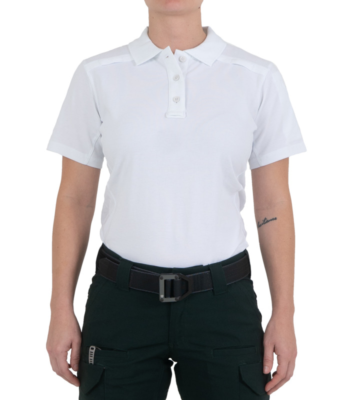 First Tactical Women's Cotton Short Sleeve Polo with Pen Pocket-First Tactical