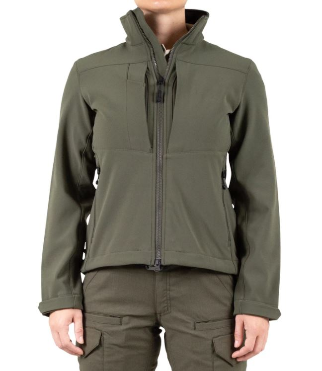First Tactical Women's Tactix Softshell Short Jacket-First Tactical
