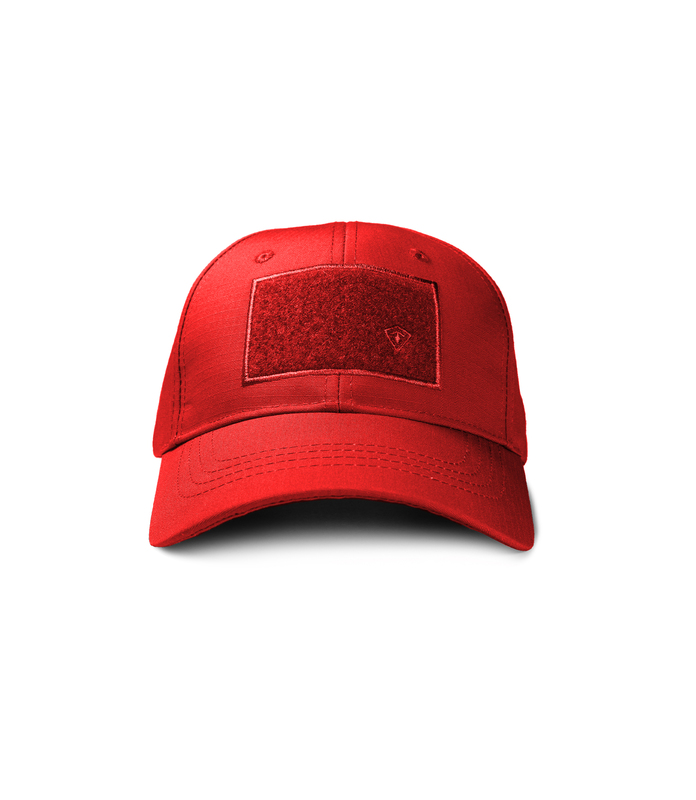 First Tactical Red Mission Adjustable Cap-First Tactical