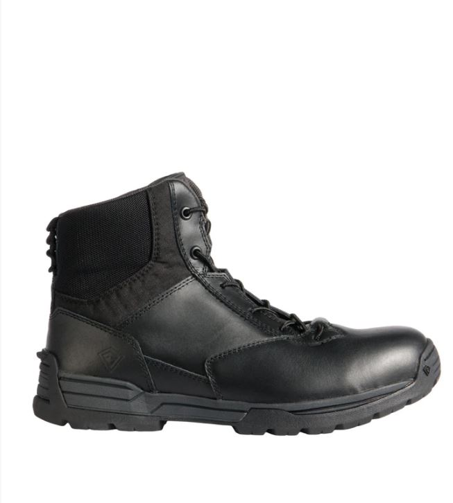 "First Tactical Men's 6"" Side-Zip Duty Boot-"