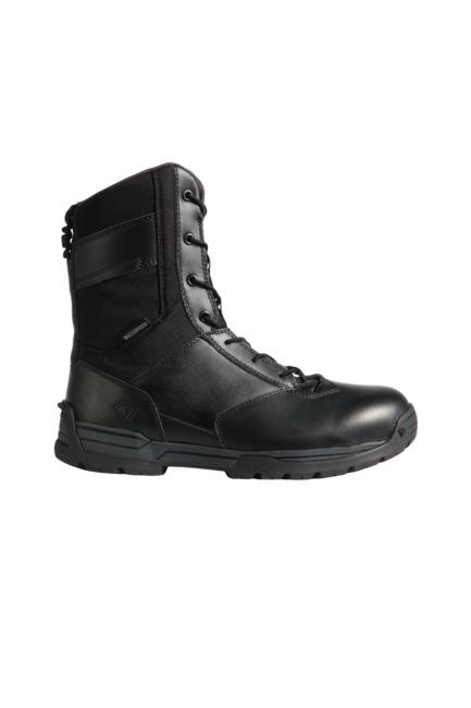 """First Tactical Men's 8"""" Waterproof Side Zip Duty Boot-"""