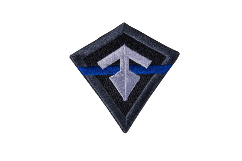 First Tactical Thin Blue Line Patch-First Tactical