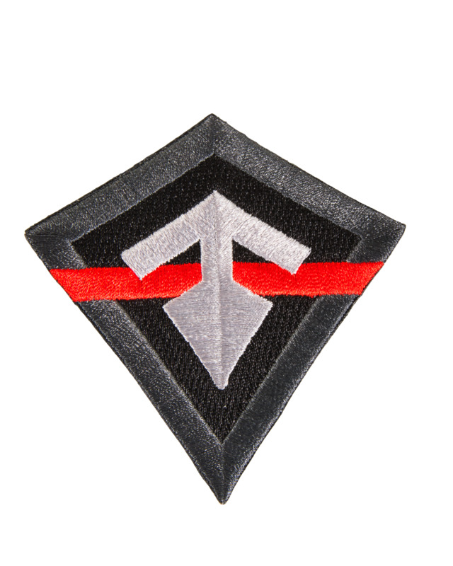 First Tactical Thin Red Line Patch-First Tactical