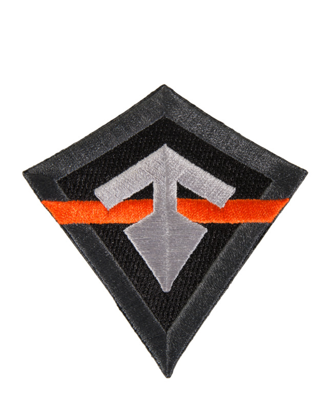 First Tactical Thin Orange Line Patch-