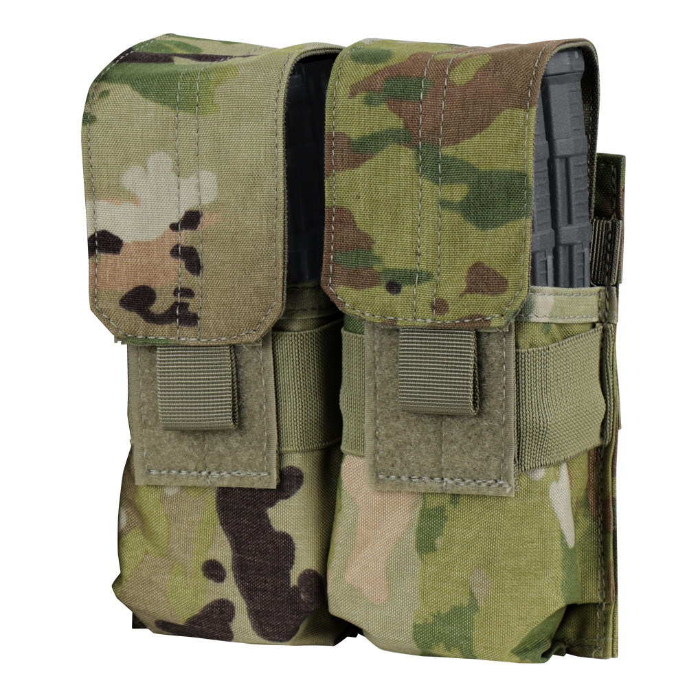 Condor Double M4 Mag Pouch With Scorpion OCP-