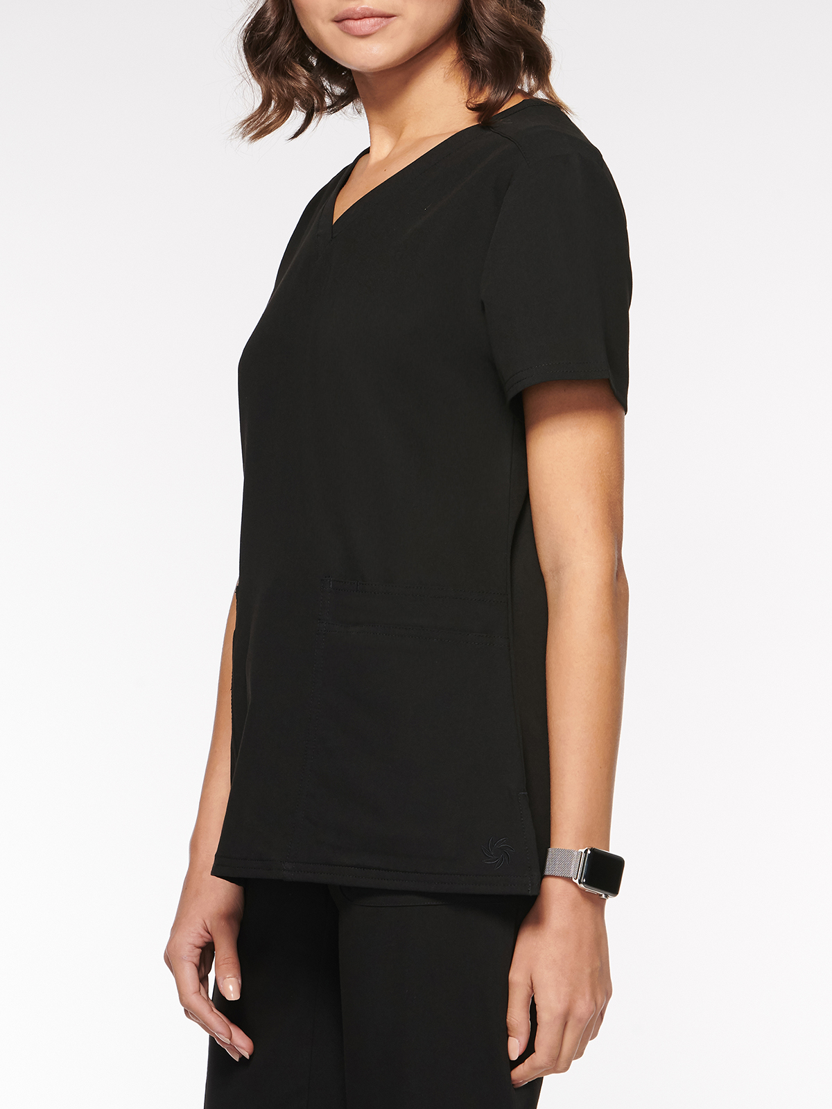 Womens Top Classic V-Neck with 6 Pockets