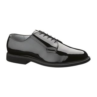 Mens High Gloss Leather Sole Oxford-