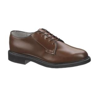 Mens Bates Lites Brown Leather Oxford-Bates Footwear