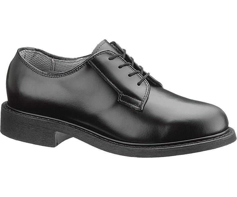 Womens Leather Uniform Oxford