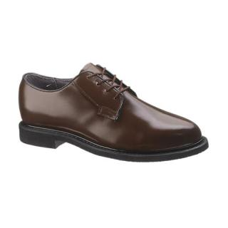 Womens Bates Lites Brown Leather Oxford-