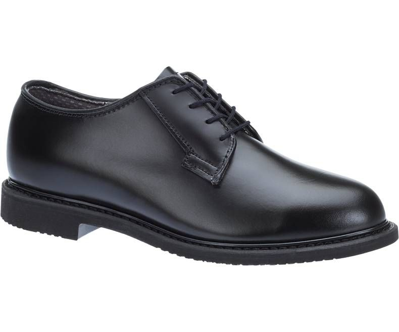 Mens Bates Lites Black Leather Oxford