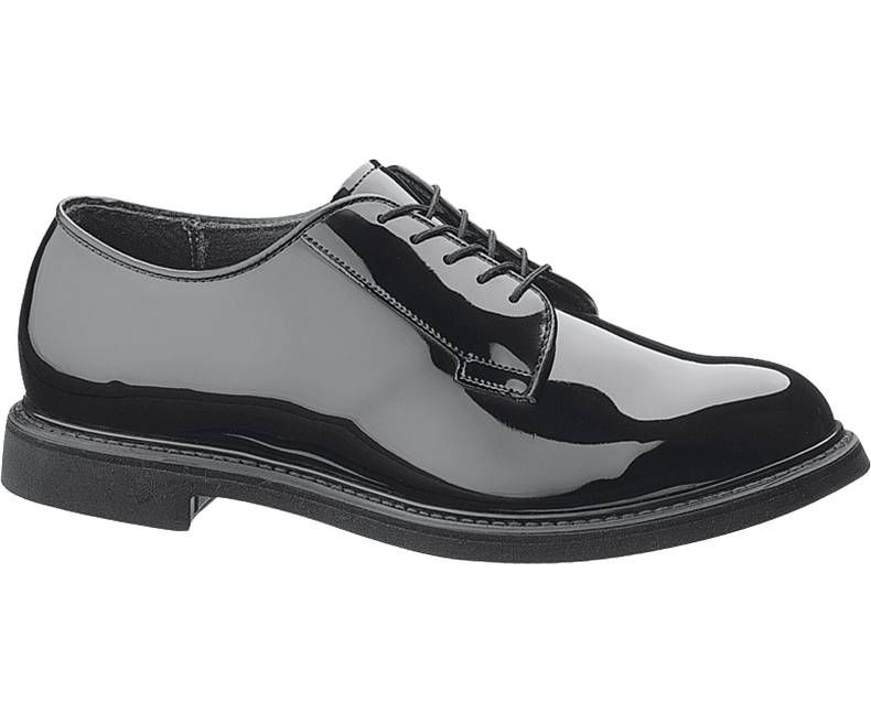 Mens DuraShocks® High Gloss Oxford-Bates Footwear
