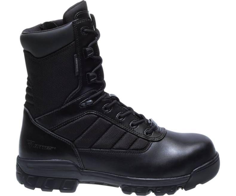 "Mens 8"" Tactical Sport Composite Toe Side Zip Boot"