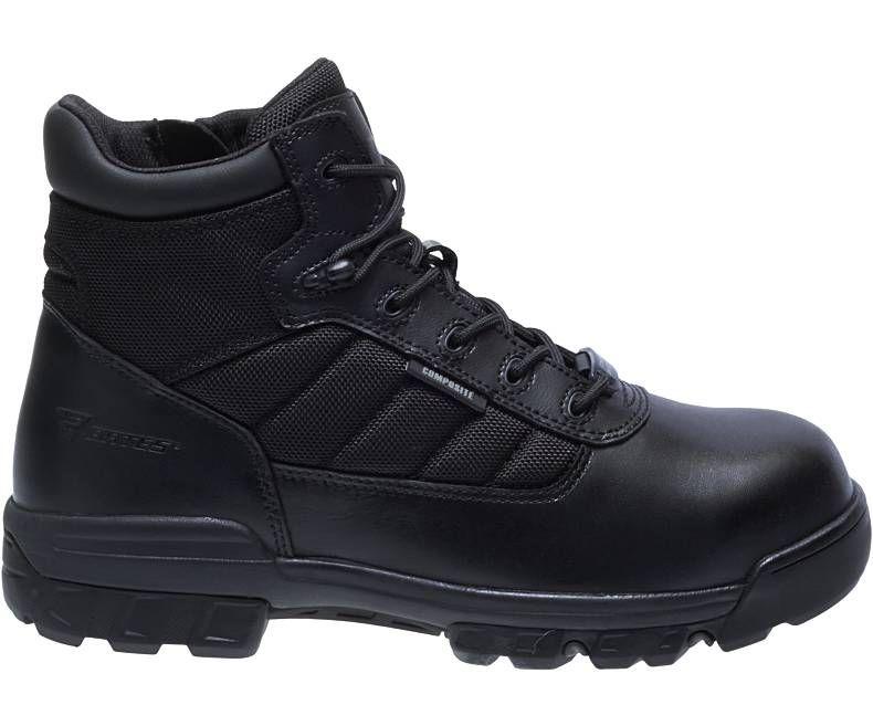 "Mens 5"" Tactical Sport Composite Toe Side Zip Boot-Bates Footwear"