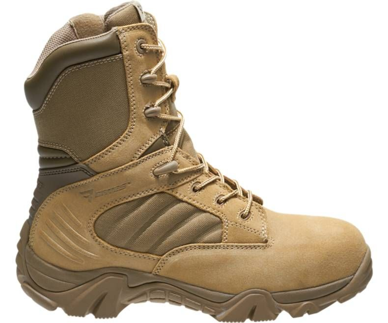 Mens GX-8 Desert Composite Toe Side Zip Boot-Bates Footwear
