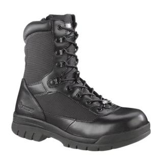 "Mens 8"" Steel Toe Side Zip Boot"