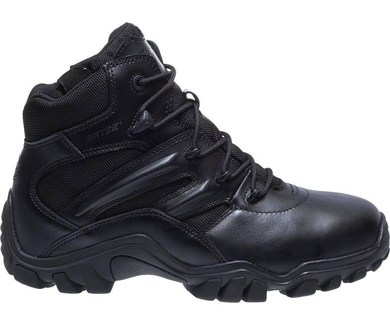 Mens Delta-6 Side Zip Boot-Bates Footwear
