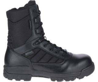 "TACTICAL SPORT/8"" BLK DRYG ZIP CT-"