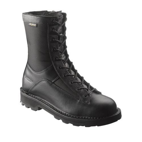 Mens 8 inch DuraShocks Lace to Toe Side Zip Boot-Bates Footwear