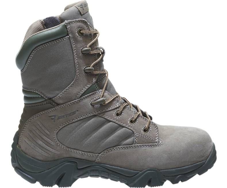 Mens GX-8 Sage Composite Toe Side Zip Boot-Bates Footwear