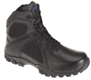 "6"" Strike Side Zip-Bates Footwear"